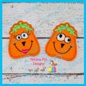 Silly Pumpkins Feltie Set