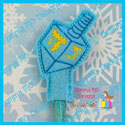 Dreidel Pencil Topper