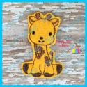Giraffe Feltie