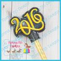 2016 Pencil Topper