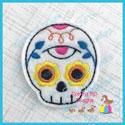 Sugar Skull 1 Feltie