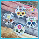Sugar Skull Feltie Bundle