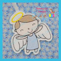 Boy Angel Ornament