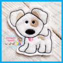 Puppy Dog Feltie
