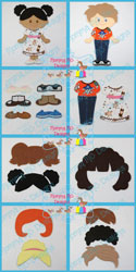 6x10 Hair, Shoes & Clothing Starter Kit