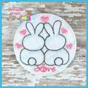 Love Bunnies Feltie