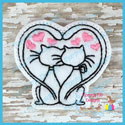 Love Cats Feltie