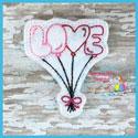 Love Balloons Feltie