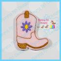 Cowboy Boot 1 Feltie