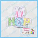 HOP Bunny Ears Feltie