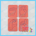 American Sign Language ASL Alphabet Cards
