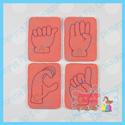 American Sign Language ASL Alphabet Cards