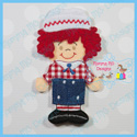 Boy Rag Doll Set 4x4