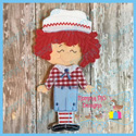 Boy Rag Doll Set 5x7
