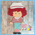 Boy Rag Doll Set 6x10