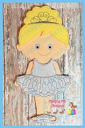 Ballerina Tutu Set 6x10