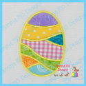 Pieced Egg Applique