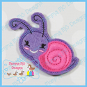 Snail 2 Feltie - Applique Version