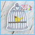 Bird Cage 2 Feltie