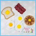Breakfast Play Food Set