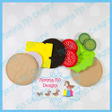 Hamburger Play Food Set