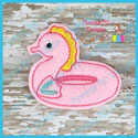 Seahorse Float Feltie