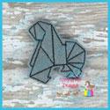 Origami Gorilla Feltie
