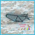 Origami Whale Feltie