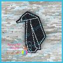 Origami Penguin Feltie