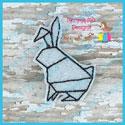 Origami Rabbit Feltie