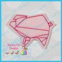 Origami Pig Feltie