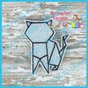 Origami Cat Feltie