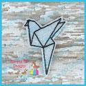 Origami Bird Feltie
