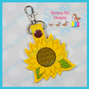 Sunflower Snap Tab