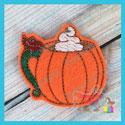 Pumpkin Cup Feltie