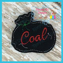 Bag of Coal Feltie