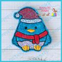 Santa Bird Feltie