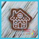 Gingerbread Cookie Feltie - House