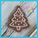 Gingerbread Cookie Feltie - Christmas Tree