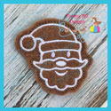Gingerbread Cookie Feltie - Santa Claus