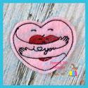 Valentine Hug Heart Feltie