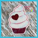 Valentine Cupcake Feltie