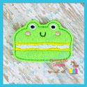 Frog Macaroon Feltie