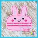 Bunny Macaroon Feltie
