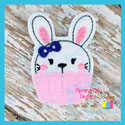 Bunny Cupcake Feltie