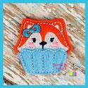Fox Cupcake Feltie