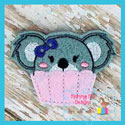 Koala Cupcake Feltie