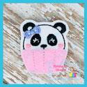 Panda Cupcake Feltie