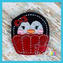 Penguin Cupcake Feltie