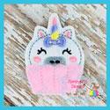 Unicorn Cupcake Feltie